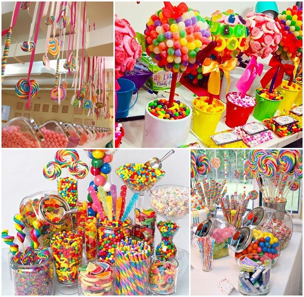 Candy Buffet Birthday Party Ideas Candy Bar Game For