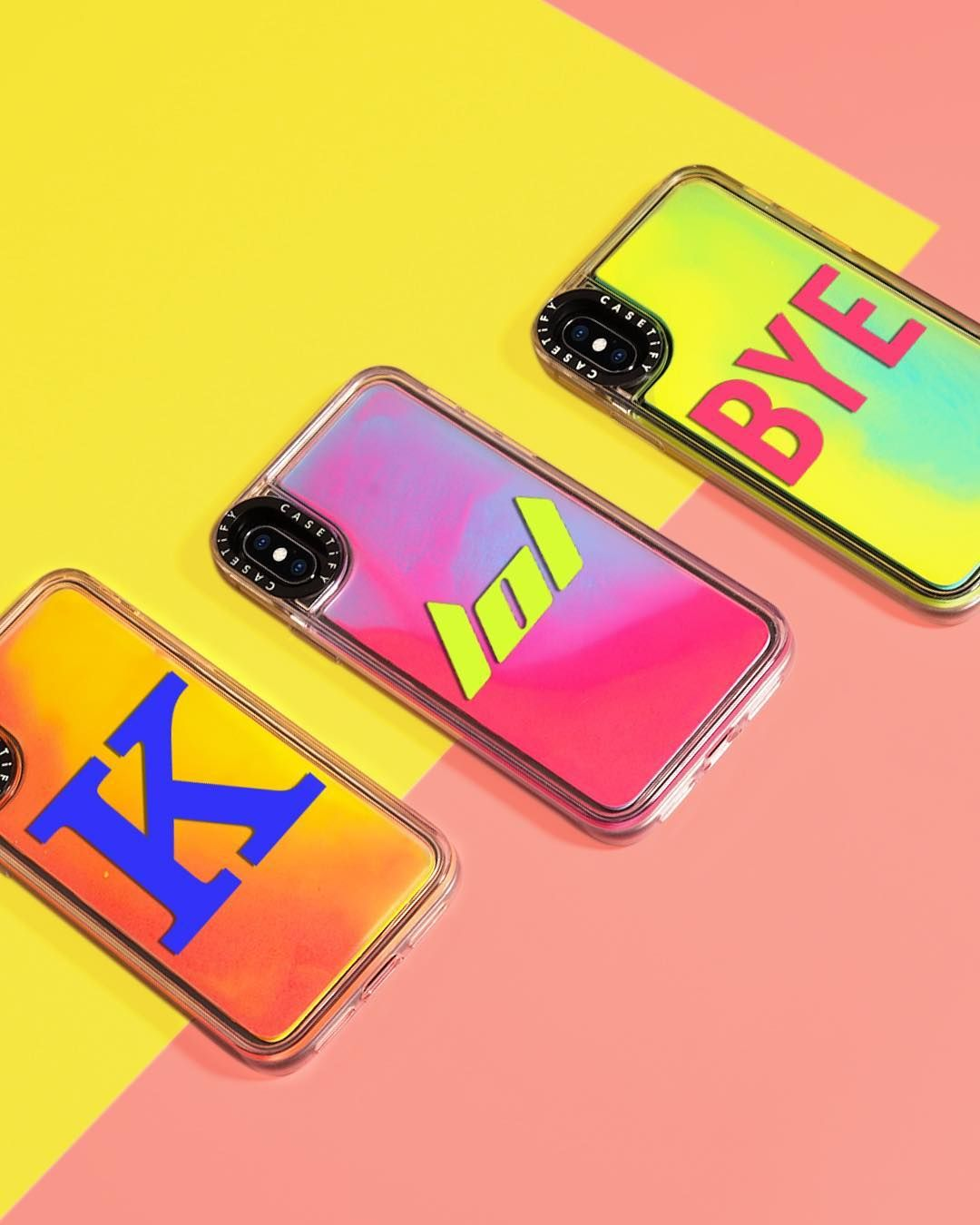 buy online 168c6 8080b Casetify Neon iPhone XS Case | When your date recommends you meet at ...