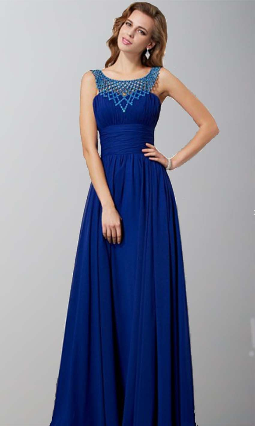 Blue-Prom-Dress-1-4 | Blue Prom Dress | Pinterest