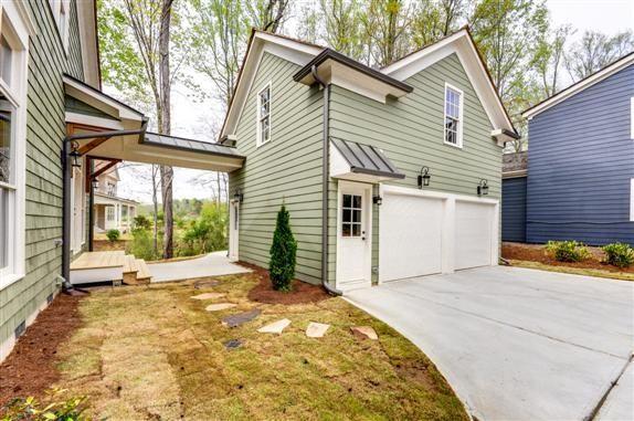 40 Best Detached Garage Model For Your Wonderful House Garage Door Design House Exterior Building A House