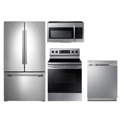 Special Buy Samsung 4 Piece Stainless Steel Kitchen Package