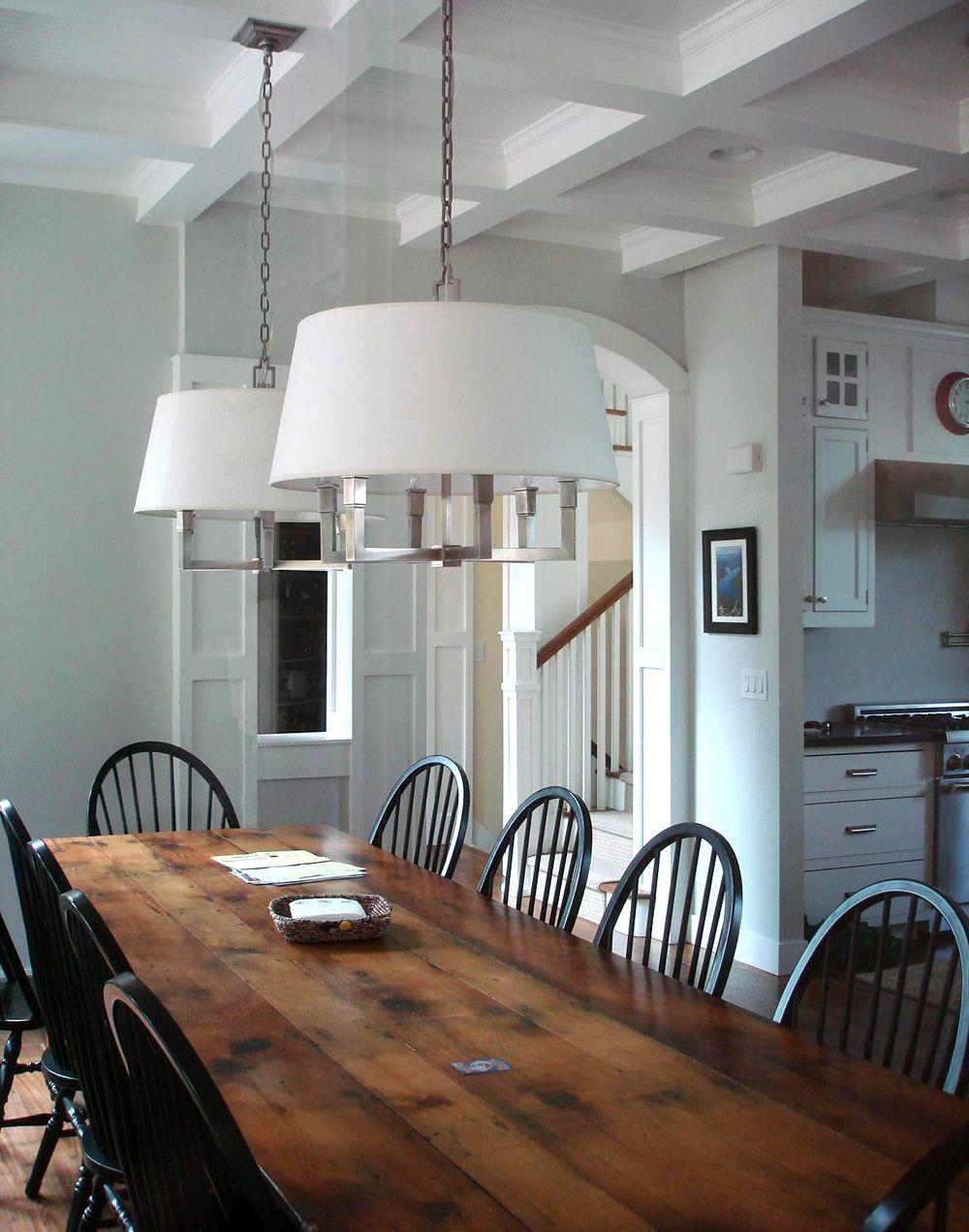 modern, brighter take on craftsman style Home, Dinning