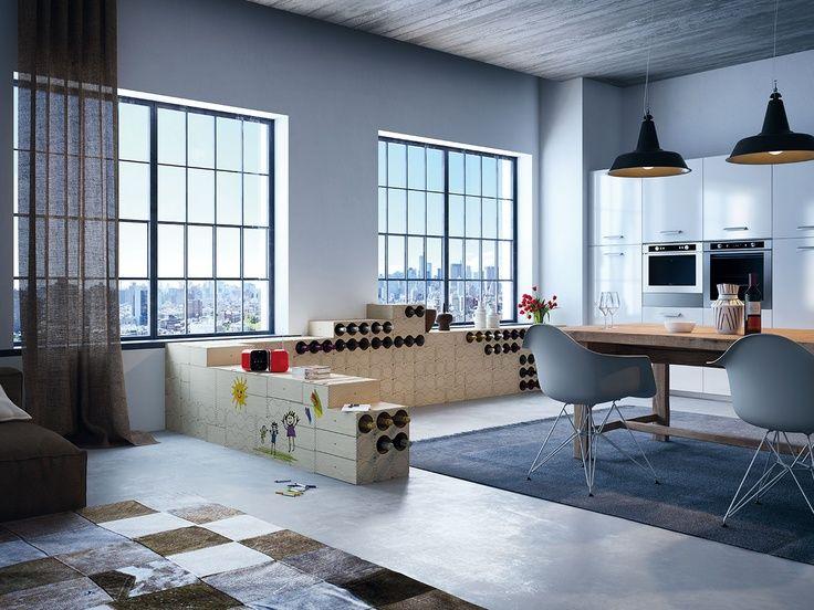 instudio, interior solutions - Google+ Wine Storage Pinterest - cortenstahl innenbereich ideen