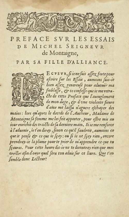 Best edition of montaignes essays