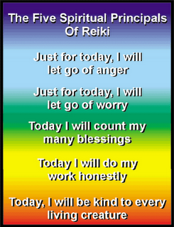 Reiki Gods Love: The reiki principles