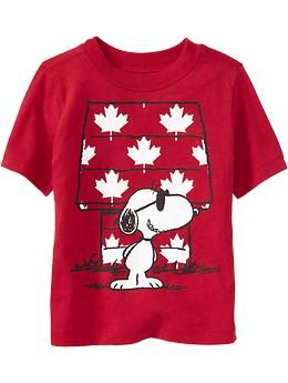 Snoopy® for Canada Day, Isaiah