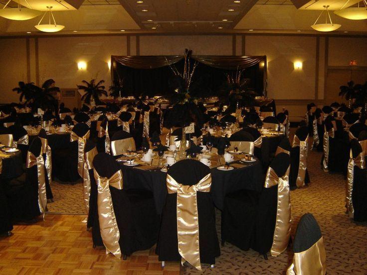 black & gold wedding theme - Google Search | Quinceneara | Pinterest ...