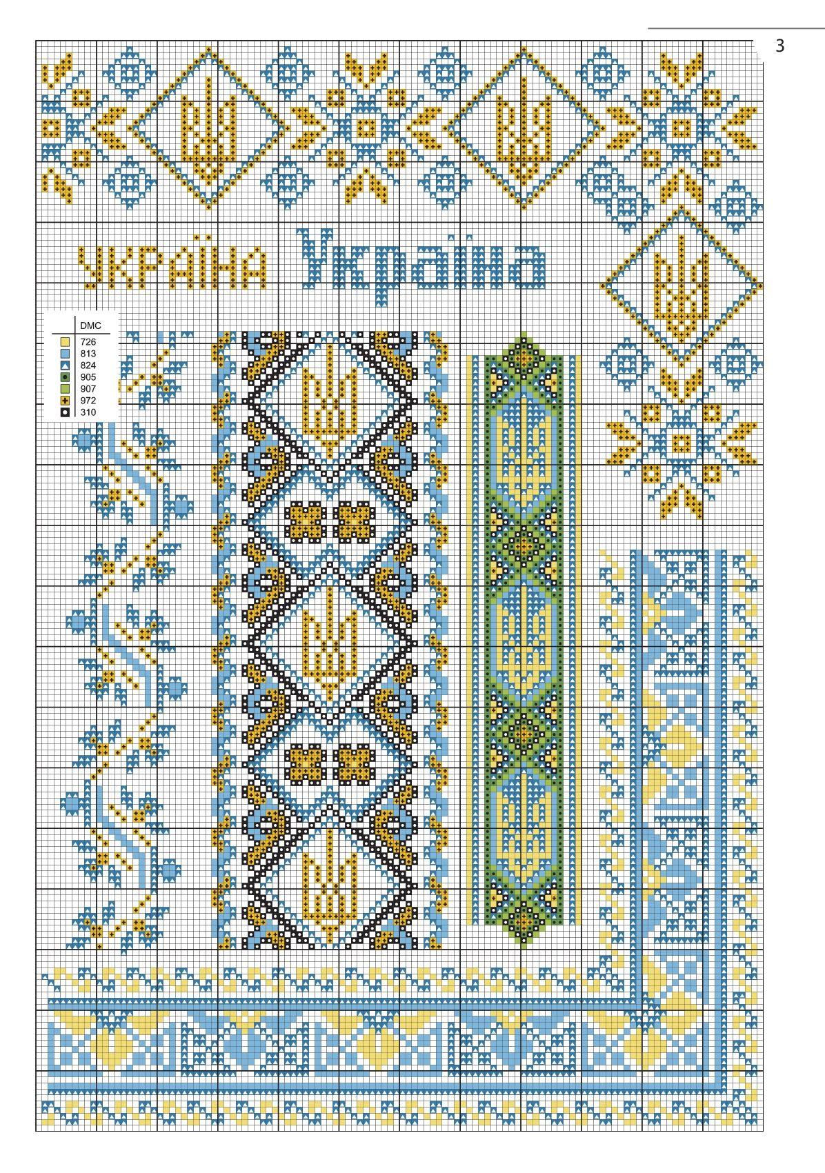 ad7e14c663be0d українська патріотична вишивка з журналу Вишиванка, вишивка хрестиком