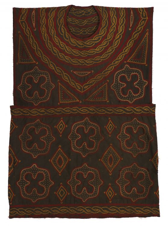 ed1020ba2eb232 click to enlarge West Africa, North Africa, African Textiles, Wool  Embroidery, African
