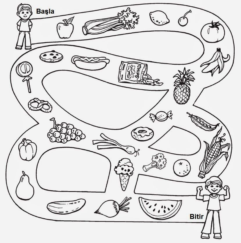Sağlıklı Yiyecekler Boyama Googleda Ara My Painting Boyamaca