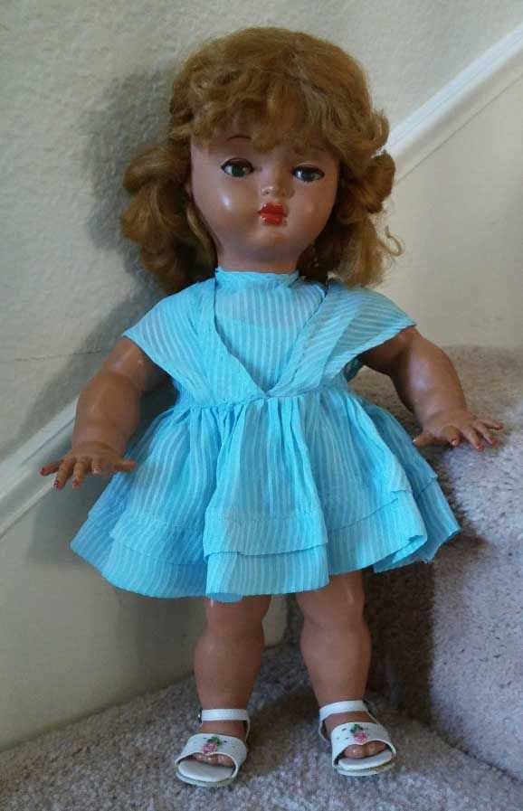 Bella rhodoid doll 15 inches from 1957