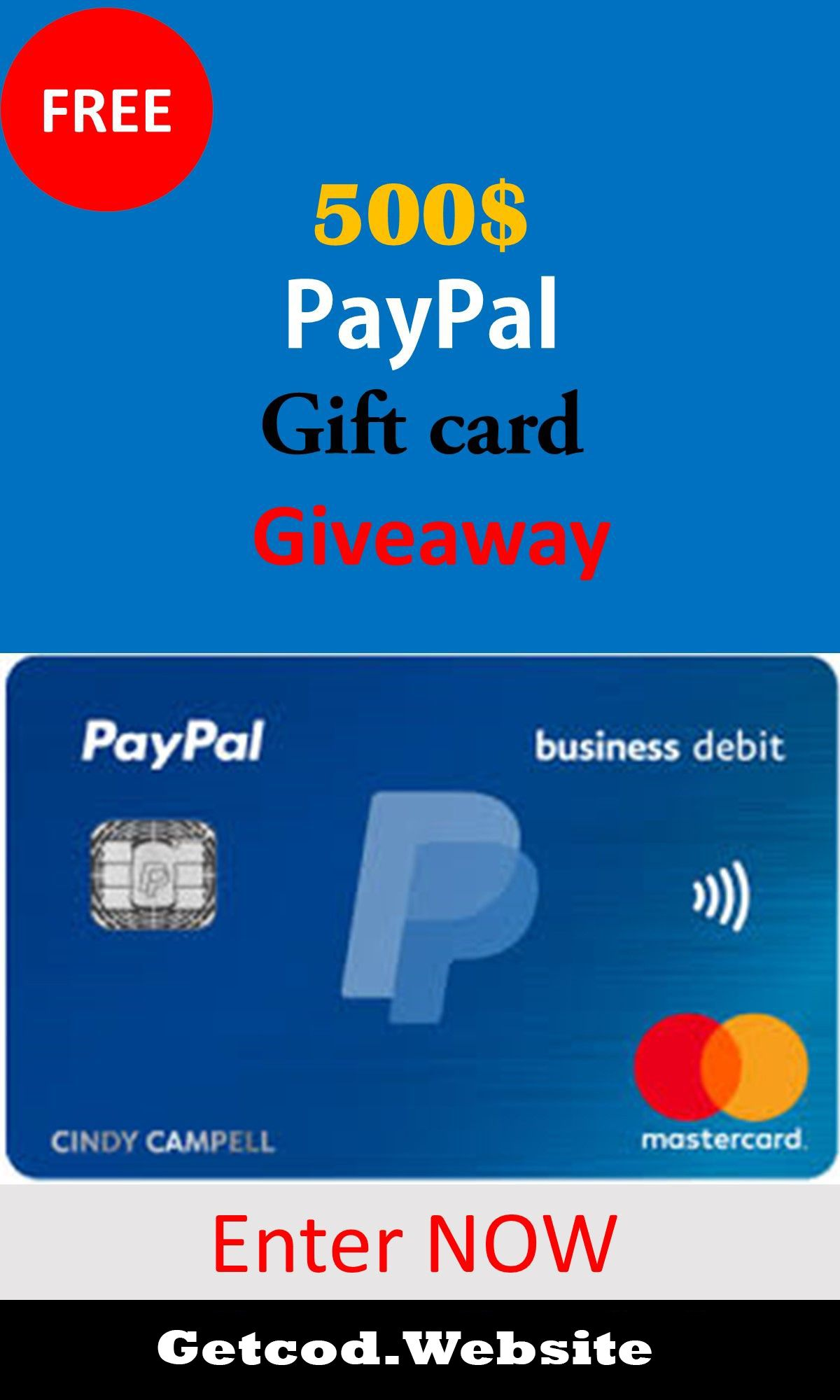 Paypal Money Free 2020 Getcod 500 Once You Ve Earned Enough