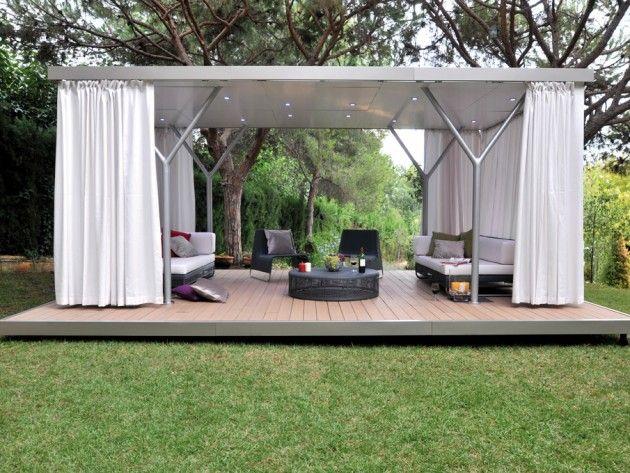 Tente de jardin design | Architecture | Pinterest | Architecture