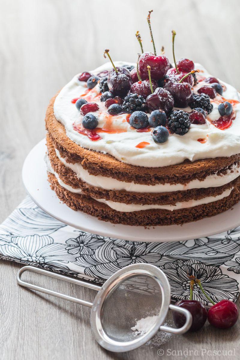 Layer cake vanille fraise | Recette gateau fraise, Recette