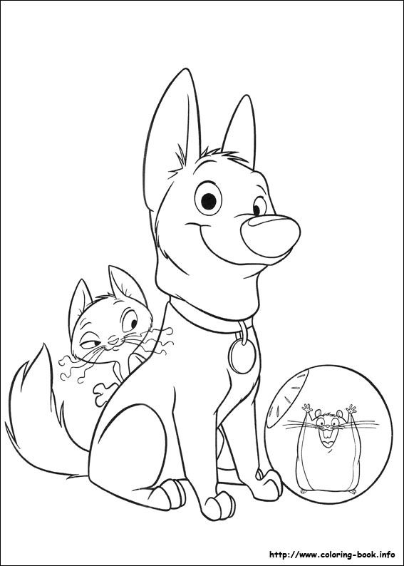 Bolt coloring picture Disney Coloring Pages Pinterest - fresh realistic rhino coloring pages