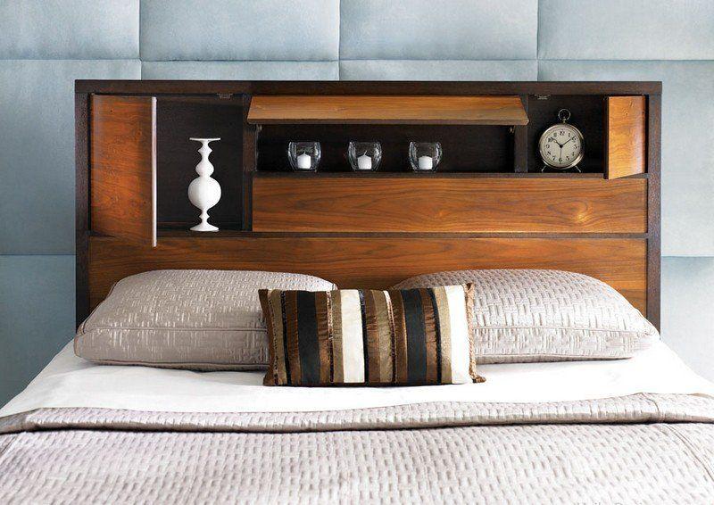 Edenvale Home Decor Ideas: Tête De Lit Avec Rangement En 57 Dées Pour Ranger Et