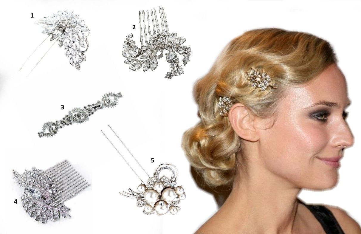 Fashion Hair Accessories 1930s Styles 1920s Accessoriesbridal