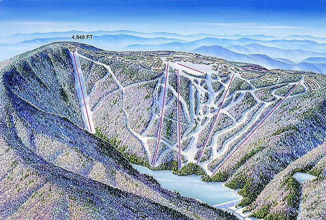 Snowshoe, West Virginia - James Niehues - Map Artist - Ski ... on west virginia transportation, timber ridge ski map, utah ski map, arizona ski map, west virginia summer, north carolina ski map, west virginia lodging, new england ski map, maine ski map, northern michigan ski map, west virginia weather, west virginia snowboarding, west virginia restaurants, alaska ski map, california ski map, snowshoe mountain ski map, west virginia apartments, west virginia information, colorado ski map, vermont ski map,