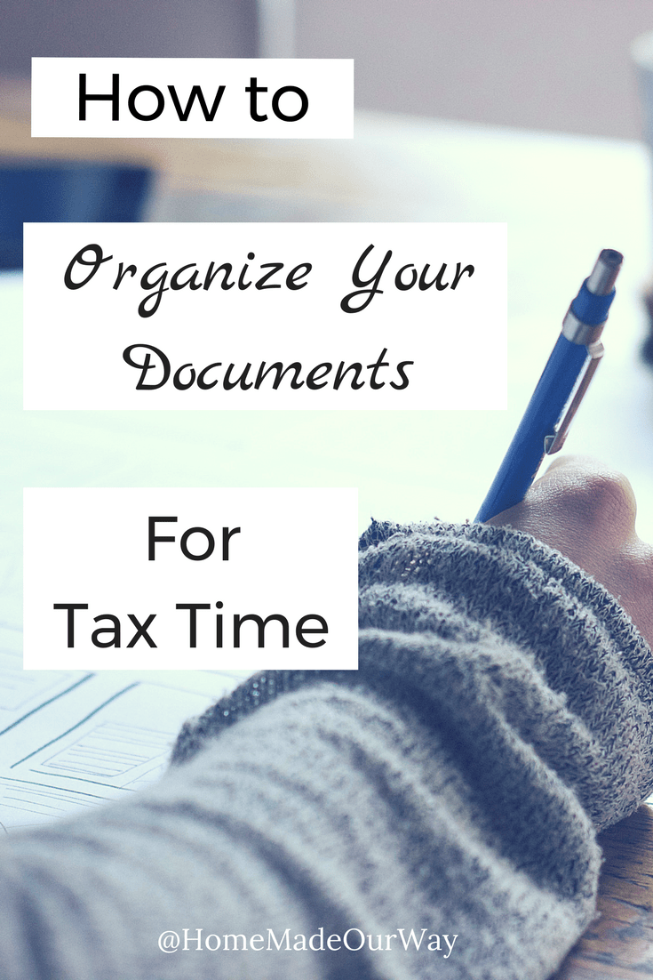 How To Organize Documents For Tax Time Avoid Tax Season Stress - How to organize invoices