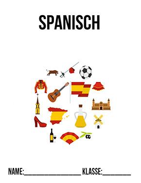 spanisch deckblatt pdf   schulbeginn   ersterschultag   einschulung   vorlage   ausdrucken