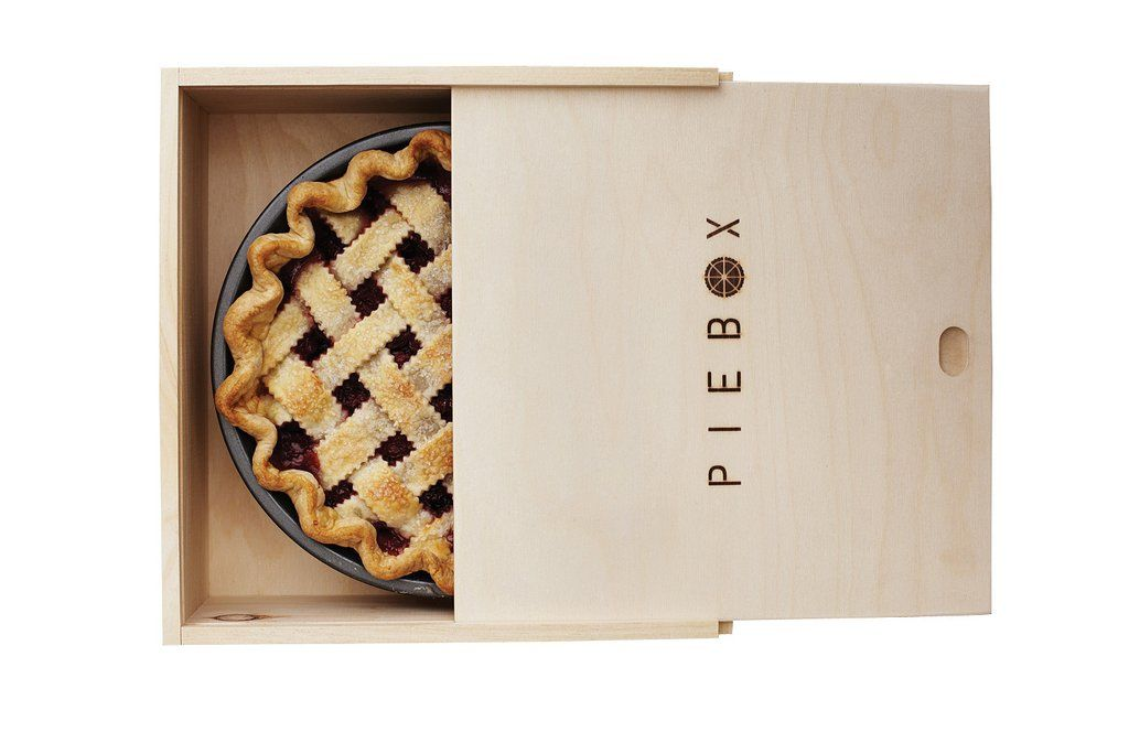 Piebox Designs Decorative Pie Carry Box in Raw Pine - Give with pie inside for great birthday hostess or housewarming gift!  sc 1 st  Pinterest & PieBox™ | Pie plate Pies and Pine