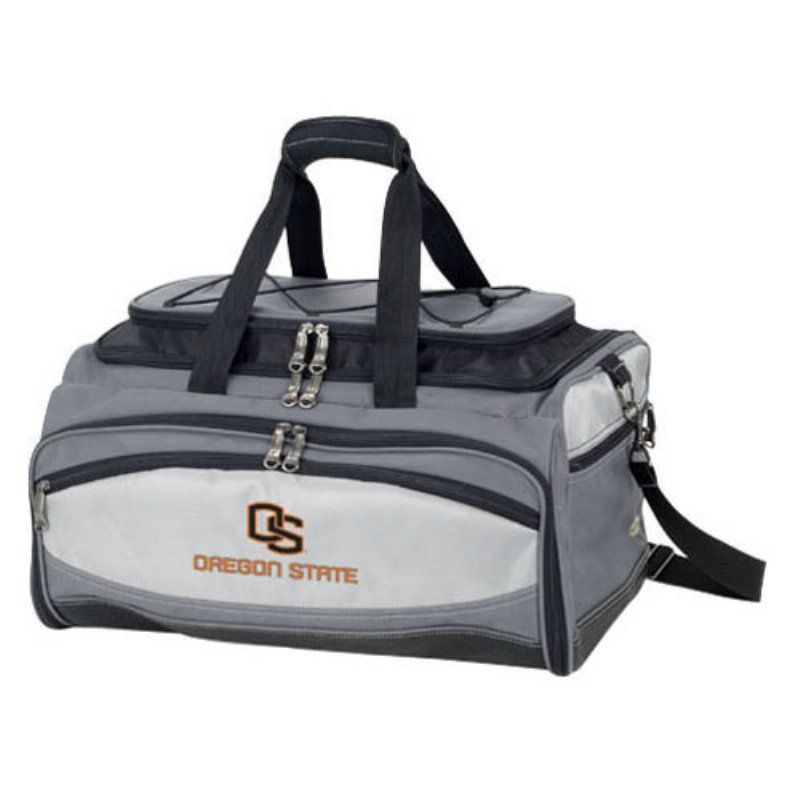 Picnic Time Collegiate Buccaneer Grill and BBQ Set - 750-00-175-482-0