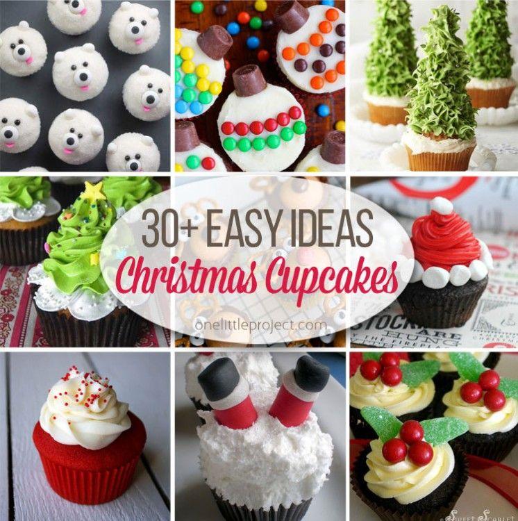 Easy Christmas Cupcakes Ideas.30 Easy Christmas Cupcake Ideas Cupcakes Christmas
