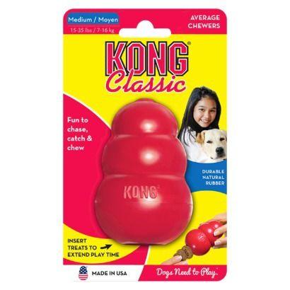 Kong Classic Average Chewers Dog toy - Medium: $9.89