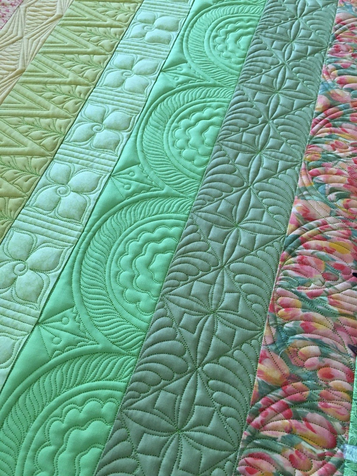 Quilt Border Free Motion Quilting Quilts Of Pinterest
