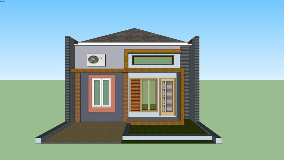 60+ Desain Rumah Minimalis File Sketchup Terbaru