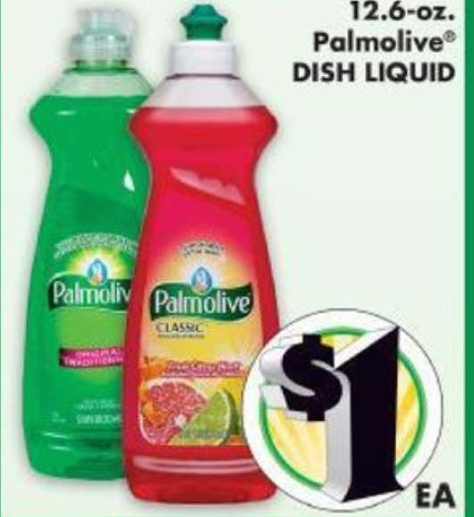 photo relating to Palmolive Printable Coupon titled Palmolive Liquid Dish Cleaning soap Just $0.75 At Greenback Tree As soon as