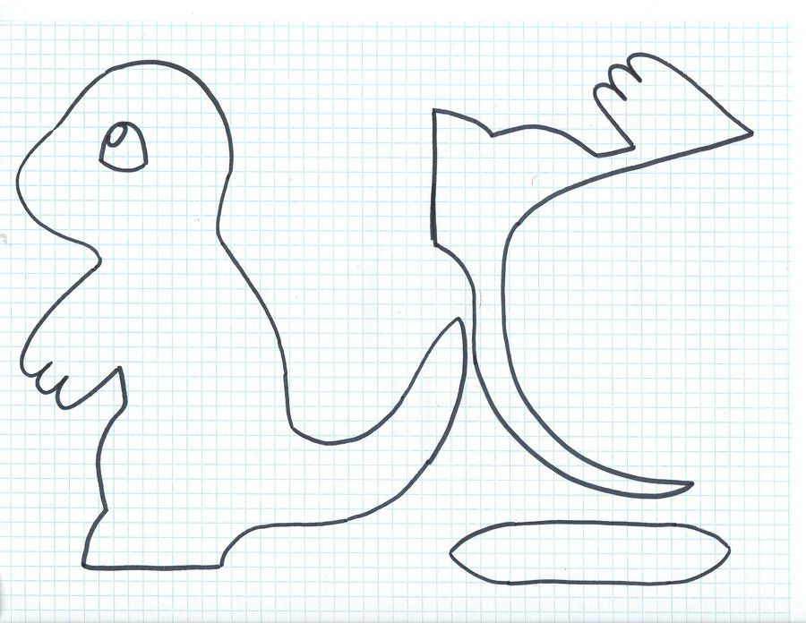 Free Charmander Pattern by NerdLass on DeviantArt   tutorial muñecos ...
