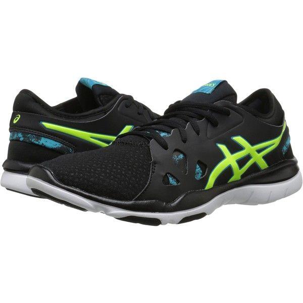 29c513daa02d ASICS Gel-Fit Nova 2 (Black Flash Yellow Scuba Blue) Women s Shoes ...