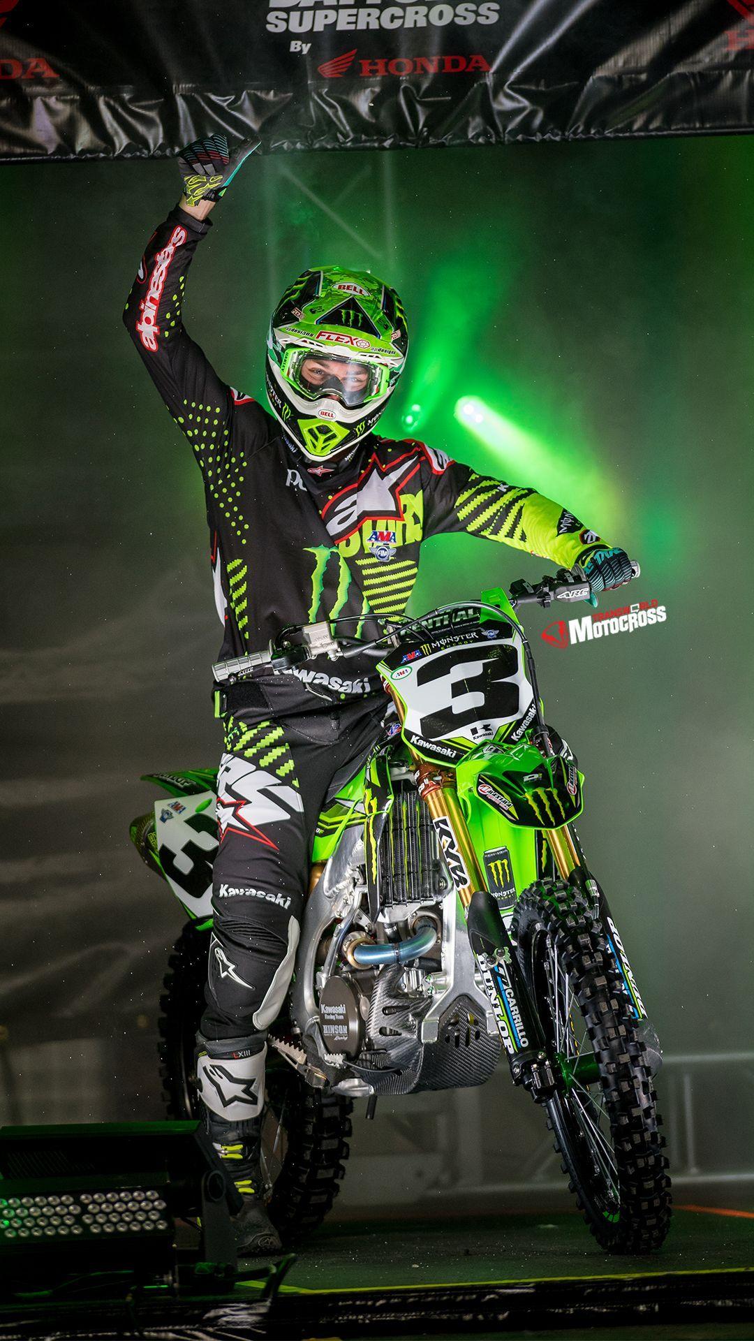 Wallpaper Motocross 4k Celular Motocross Kawasaki Dirt Bikes Enduro Motocross