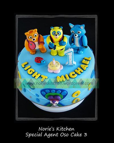 Special agent oso cake