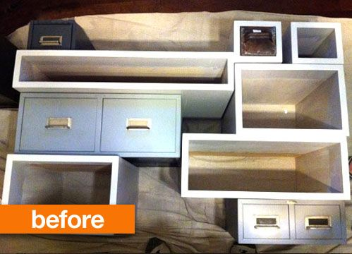 Before & After: A Multi-Drawer Console Design *Sponge