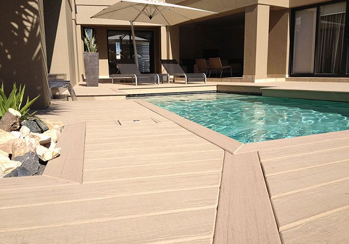 Cheap Outdoor Pool Decks Wpc Decking Cheap Waterproof
