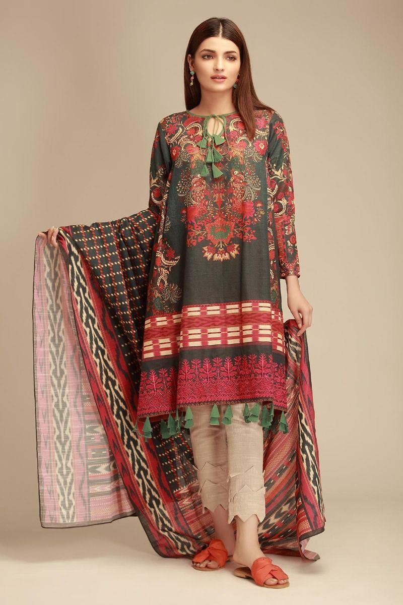 Khaadi Winter Dresses Latest Collection 2020 Stylish Warm Suits