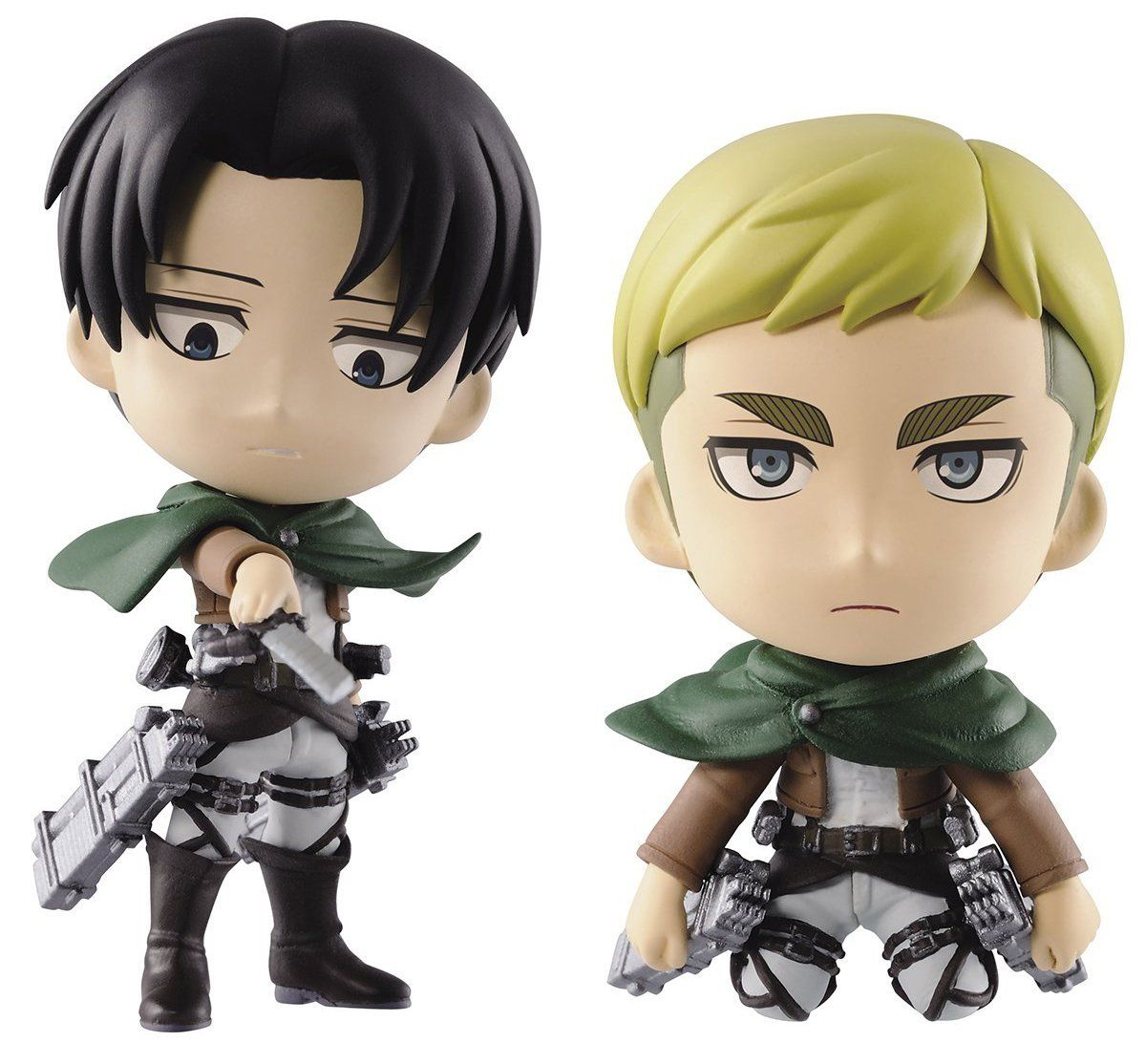 """Amazon.com: Banpresto 2.5"""" Attack On Titan: Levi & Erwin"""
