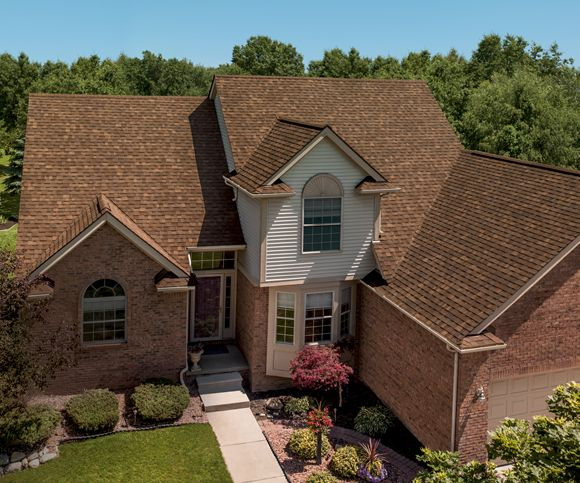 Best Oakridge® Shingles Artisan Colors Aged Cedar House 400 x 300