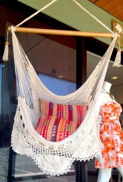 Crochet Hammock - St.Tropez-Detail