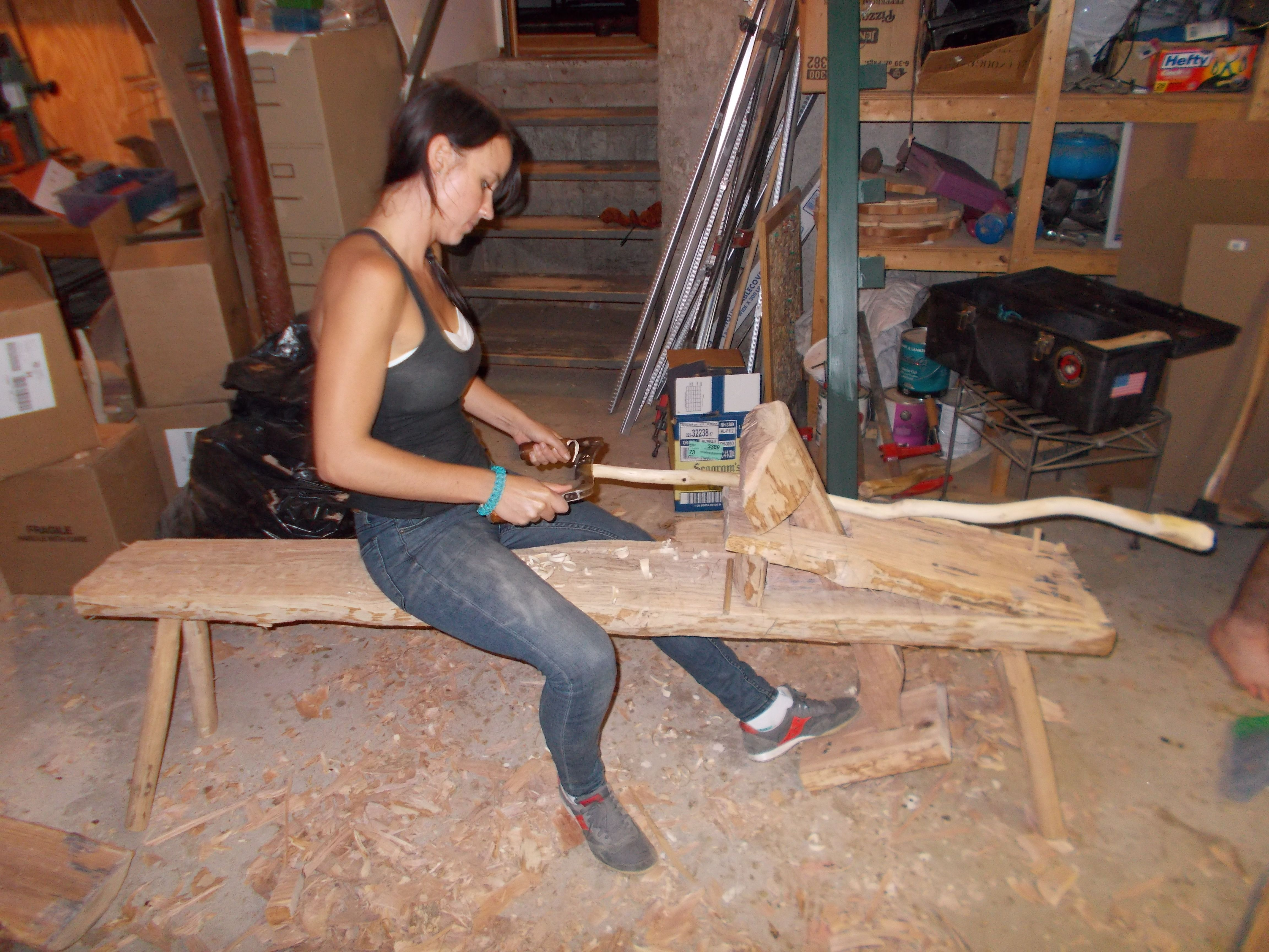 shaving horse bench - Google Search Woodworking