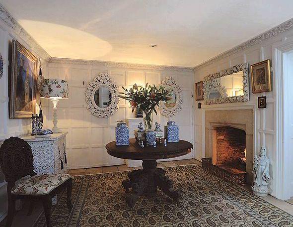 Receiving Room In Home Of Interior Designer Laurence Llewelyn Bowen.