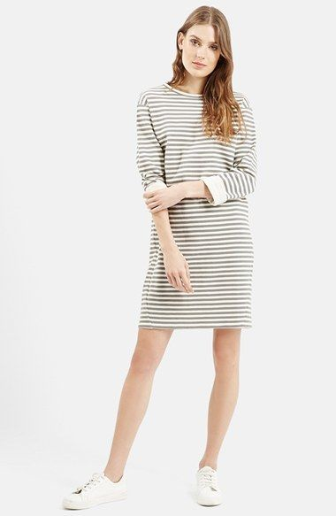 c5488464fe2 Topshop Stripe Sweater Dress