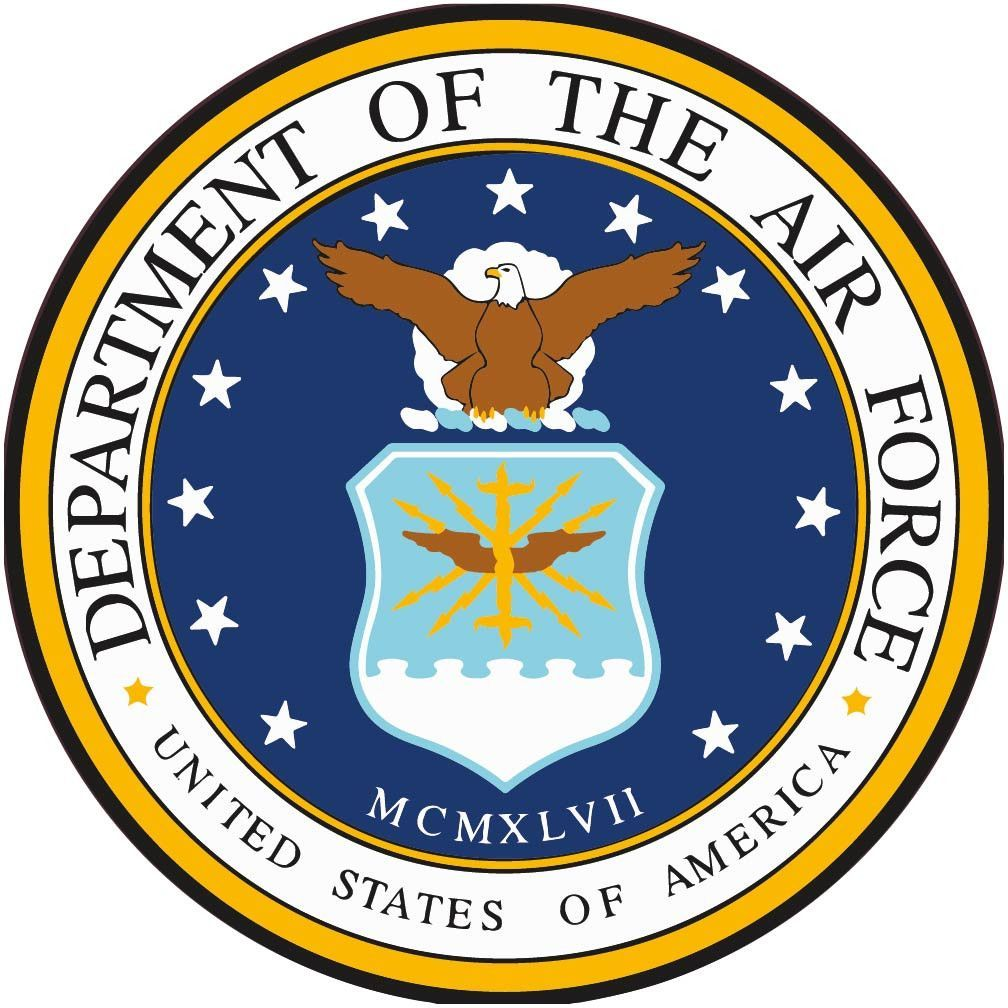 department of the airforce usa with graphic 2 air force rh pinterest com department of the air force letterhead seal USAF Seal