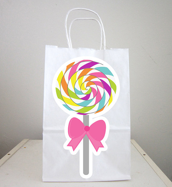 candy goody bags lollipop goody bags candy favor bags candy gift