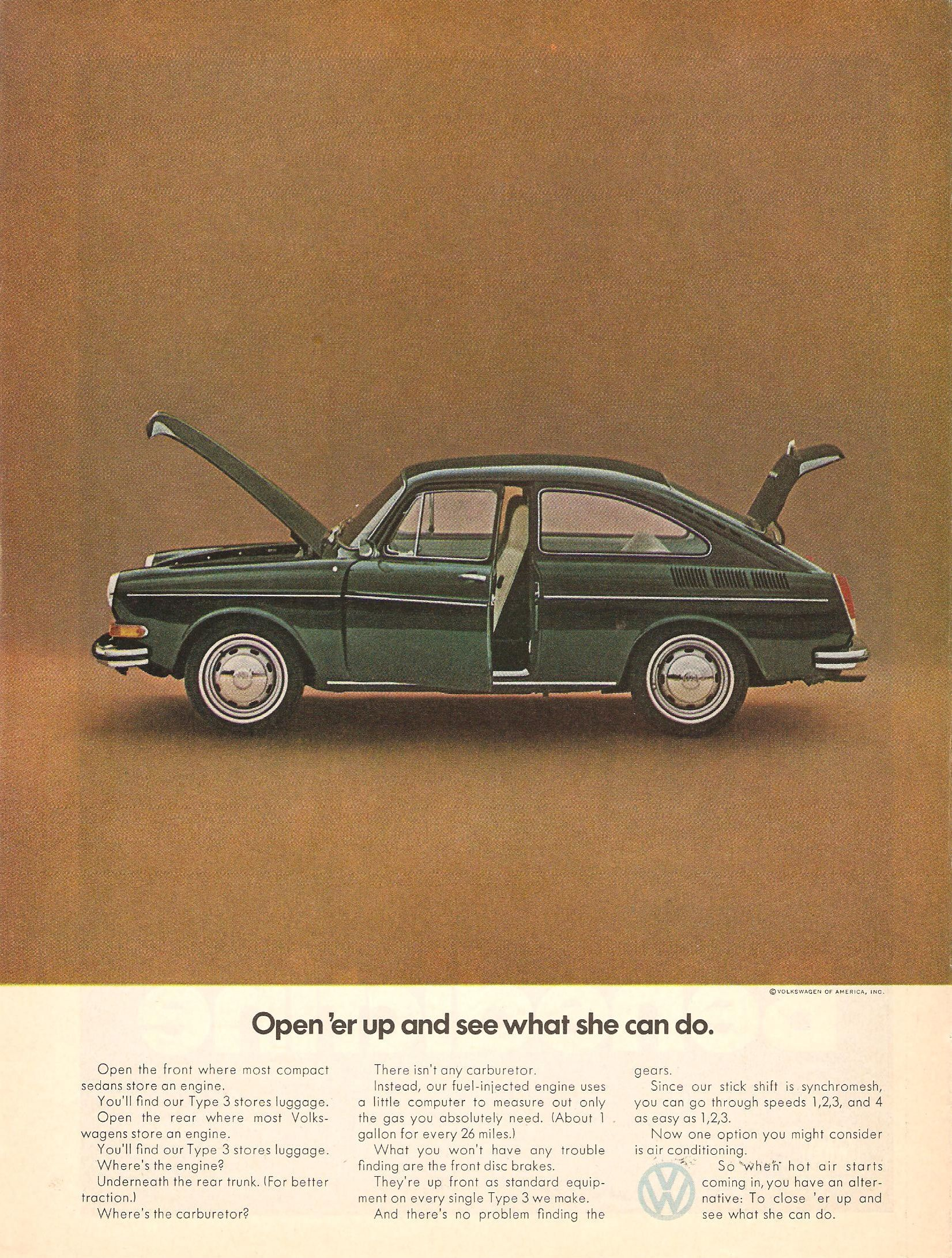 Vw Advertising In The Seventies From Classic Ddb To A New