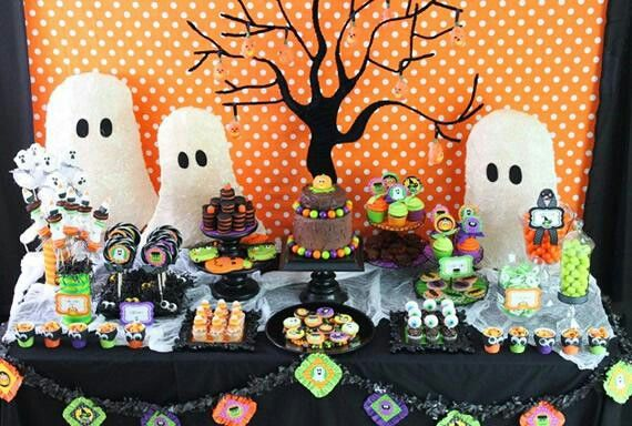 Mesa de dulces para halloween Holiday fun! Pinterest Holiday