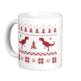 Found my new holiday mug #trex #uglysweater #YAS