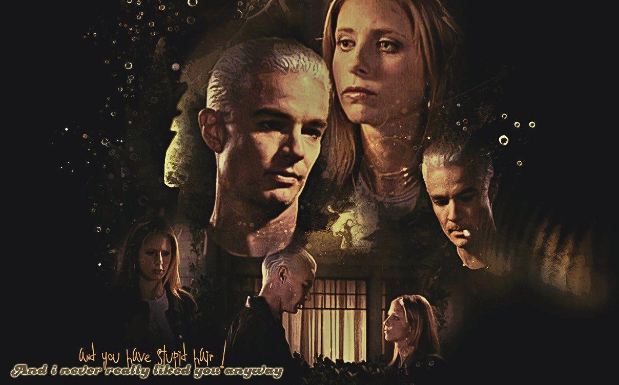 Spike Buffy Wallpaper Buffy The Vampire Slayer Buffy The